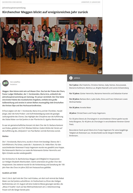 Artikel: LokalPlus, 21.01.2020