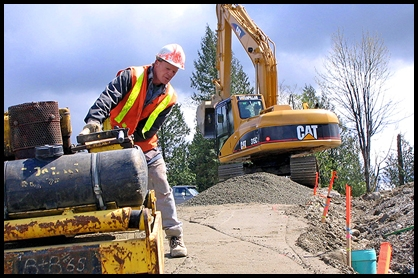 excavator hire in Morgantown