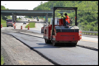 asphalt commercial paving