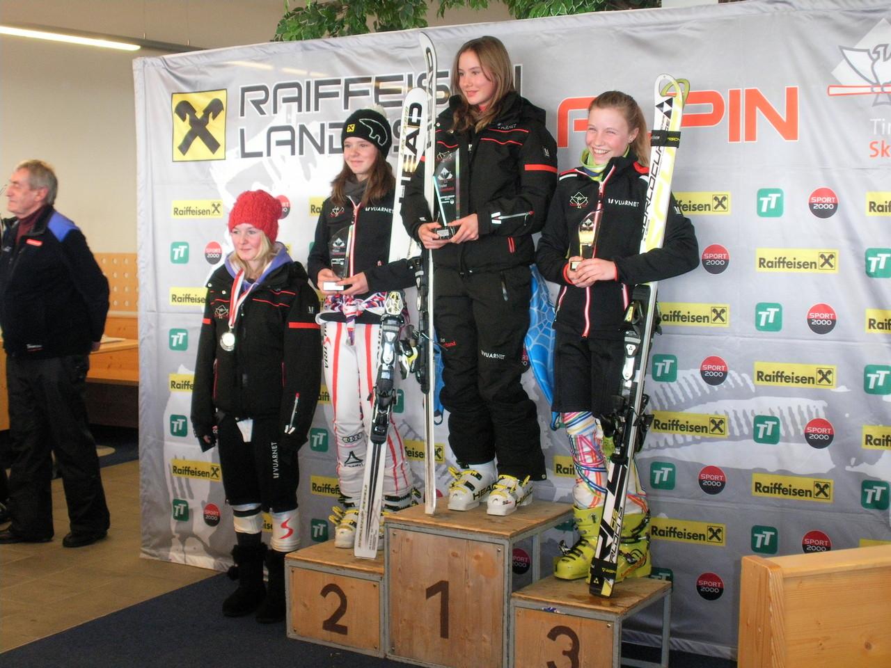 Magdalena 3. Rang - komplette Skifahrerin