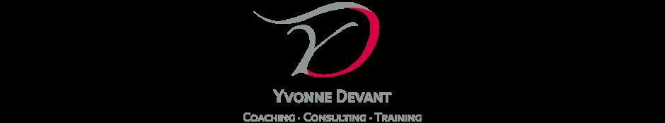 Yvonne Devant Coaching · Consulting · Training Logo