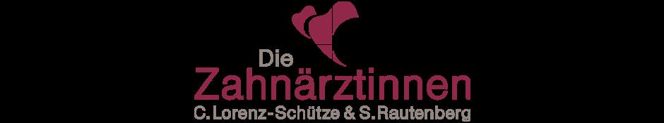 Zahnärzinnen Claudia Lorenz-Schütze & Susanne Rautenberg (Zahnärtliche Gemeinschaftspraxis in Hamburg-Eimsbüttel) Logo