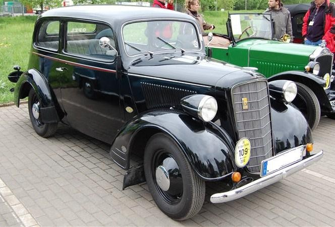 Opel 1.3ltr 2-Türer Bj.1934 -Fahrbereit