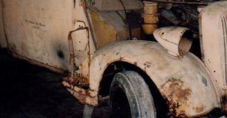 Benzin-Kanister Halterung / Wehrmacht Umbau