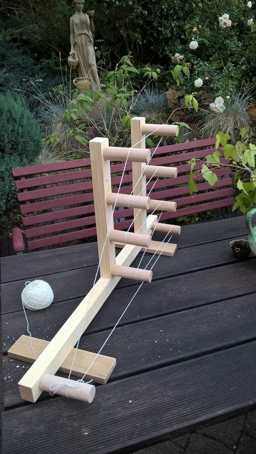 mein zweiter Rahmen mit einer Länge von 3.60m