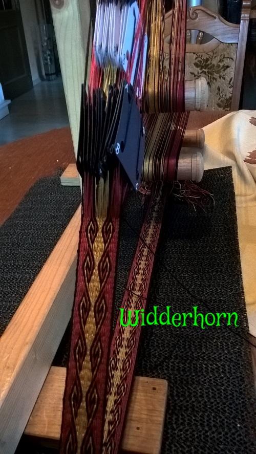 hier habe ich das Widderhorn probiert , richtig edel geworden