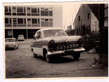 1958 - Fahrzeug wieder instandgesetzt