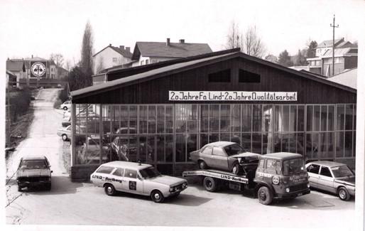 1976 - 20 Jahre Fa. Lind