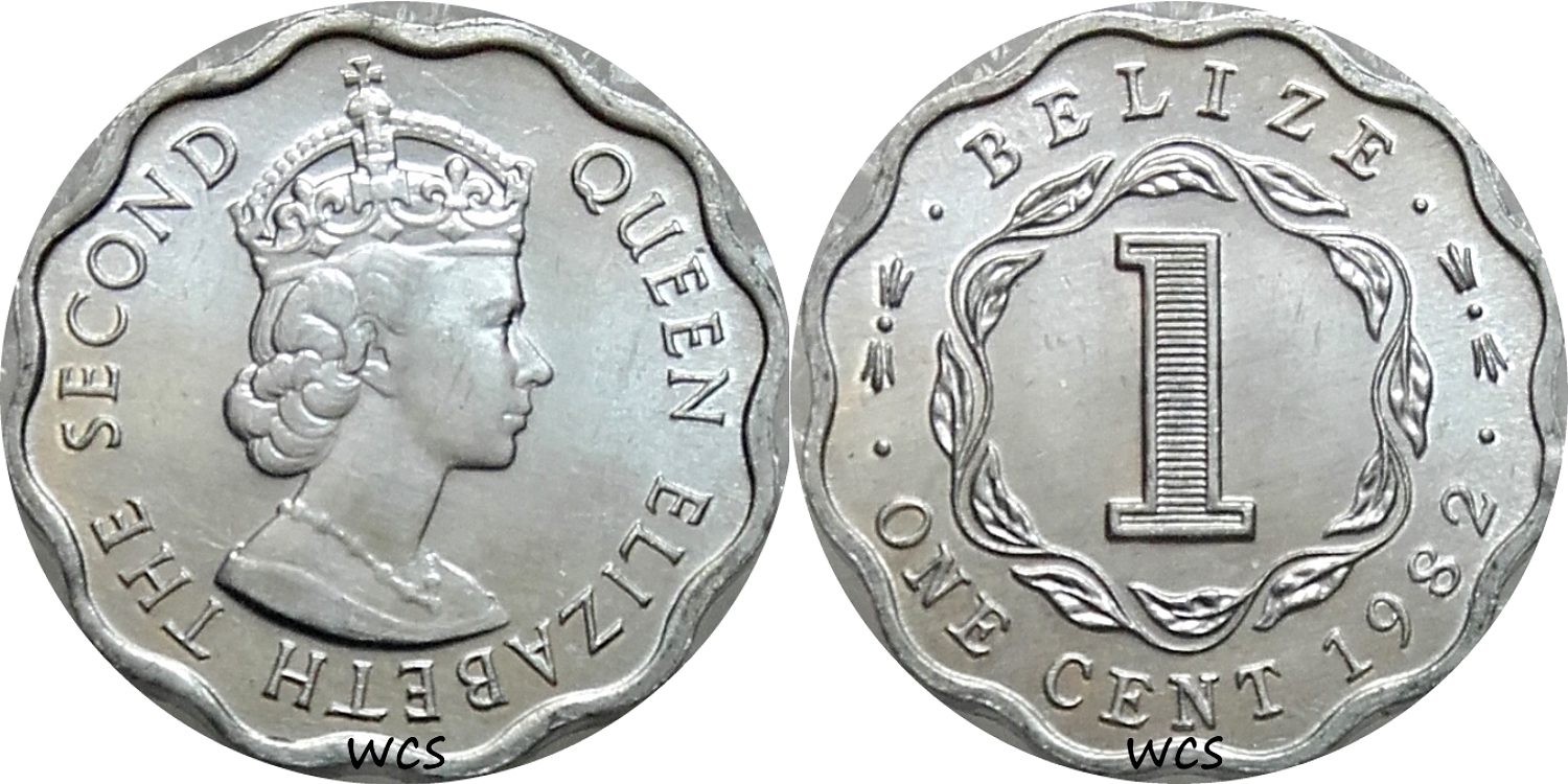 belize 1 cent coin