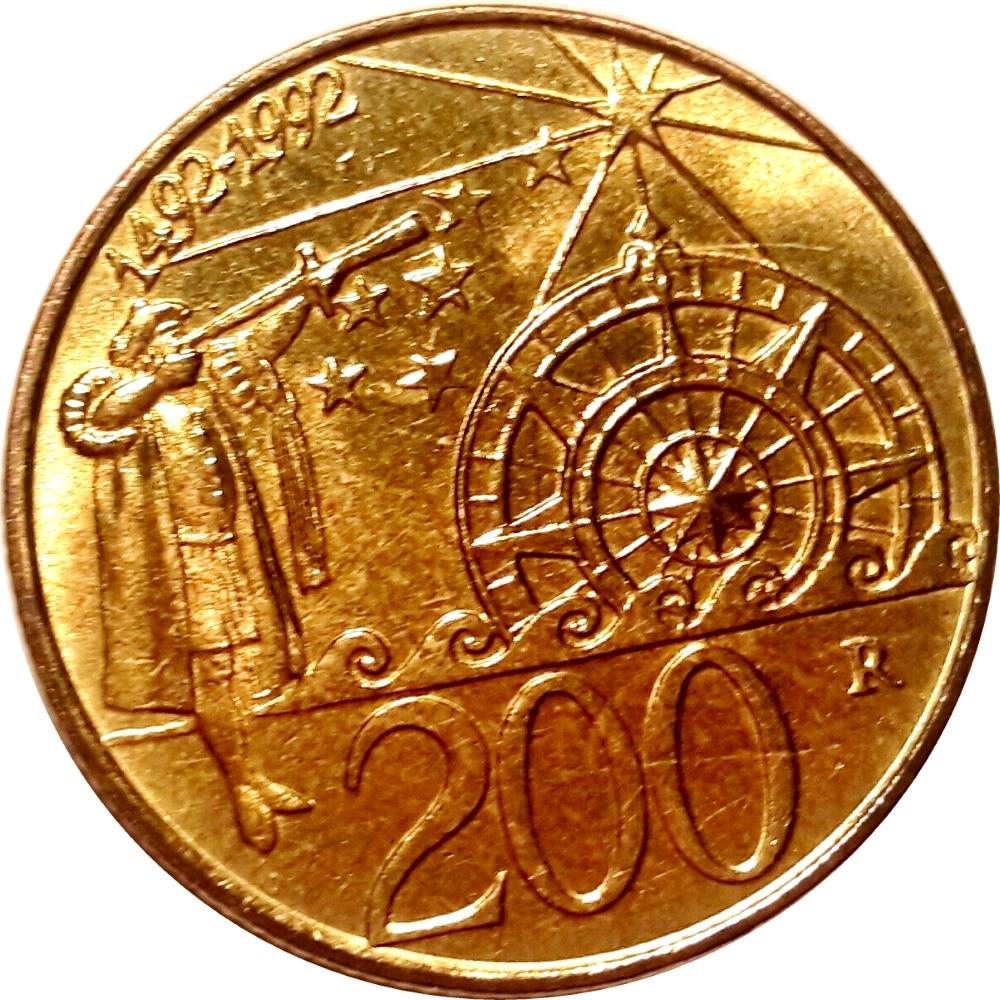 San Marino 100 lire 1990 km#254 UNC