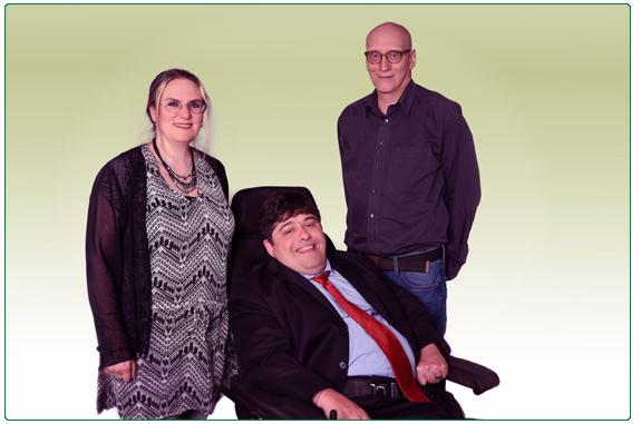 Team Alfonso Baum UG: Ilona Dorn-Preuß (Gründerin) • Alfonso Roman-Barbas (Gründer) • Stefan Schneeloch (freier Mitarbeiter)