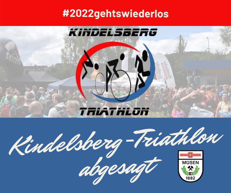 Kindelsberg-Triathlon 2021 – Absage der Veranstaltung