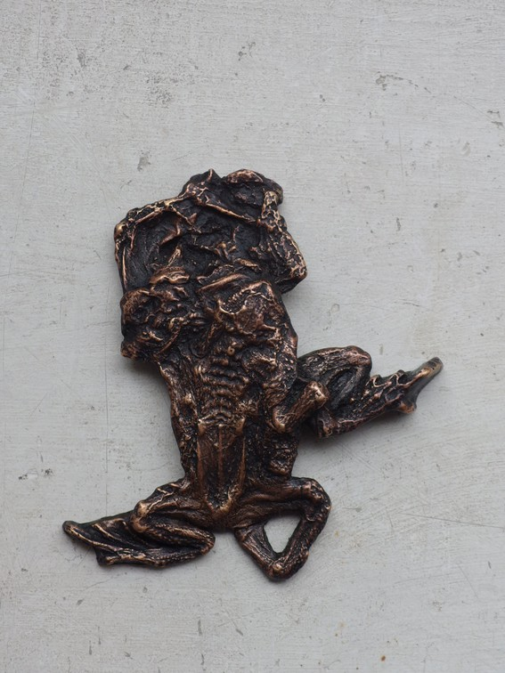 KRÖTENWANDERUNG - Bronze, 2017