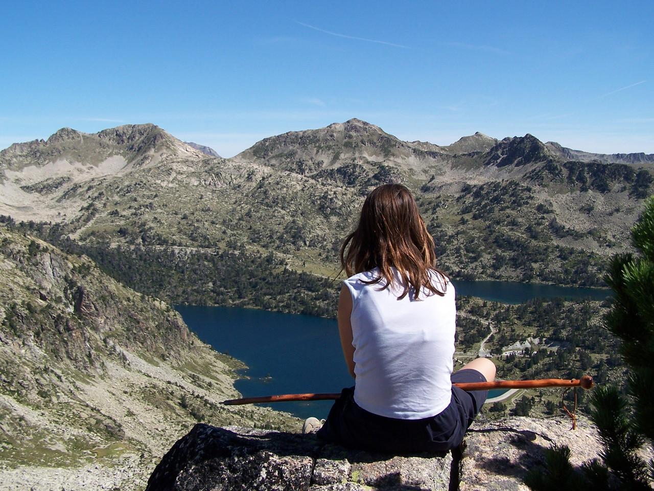 contemplation au sommet