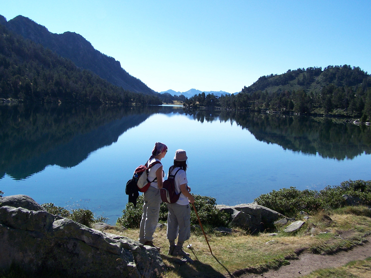 lac d'Aumar dans la réserve naturelle du Néouvielle