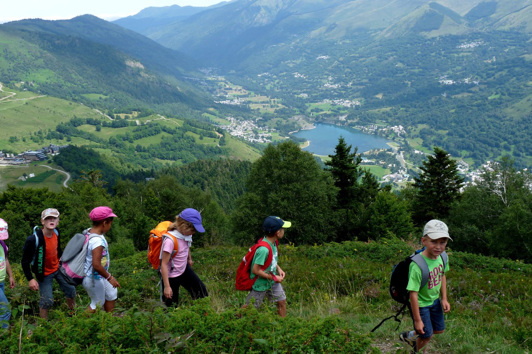 randonnée enfants en vallée du Louron