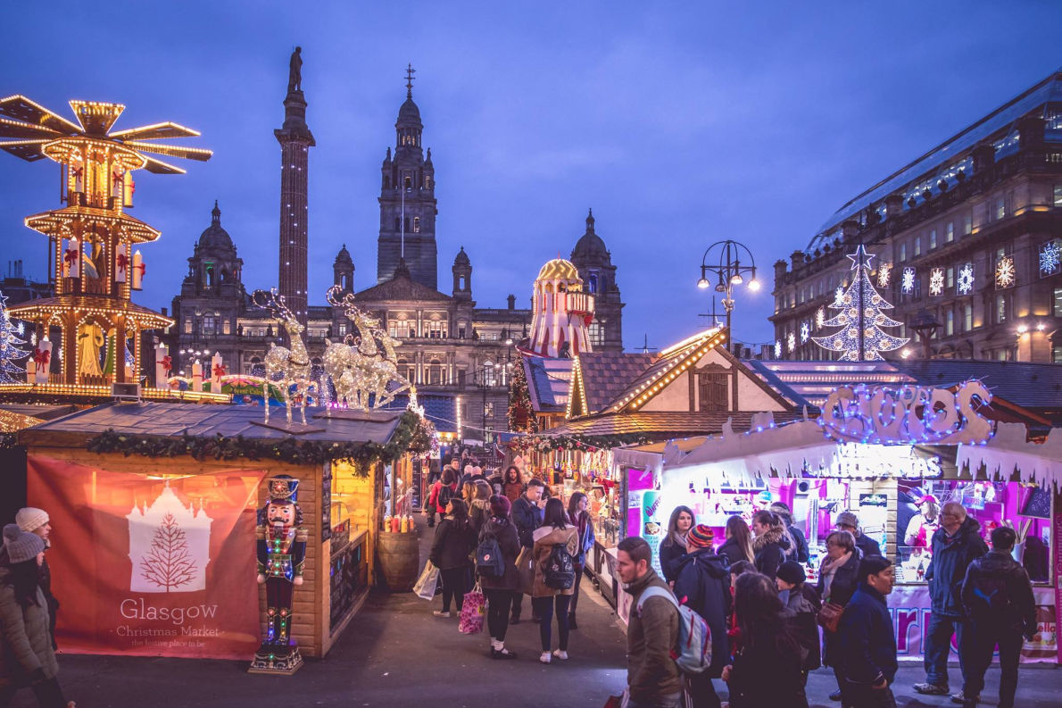 Best Christmas Markets in the UK  -  Christmas in Glasgow - Copyright Visit Glasgow  -  European Best Destinations