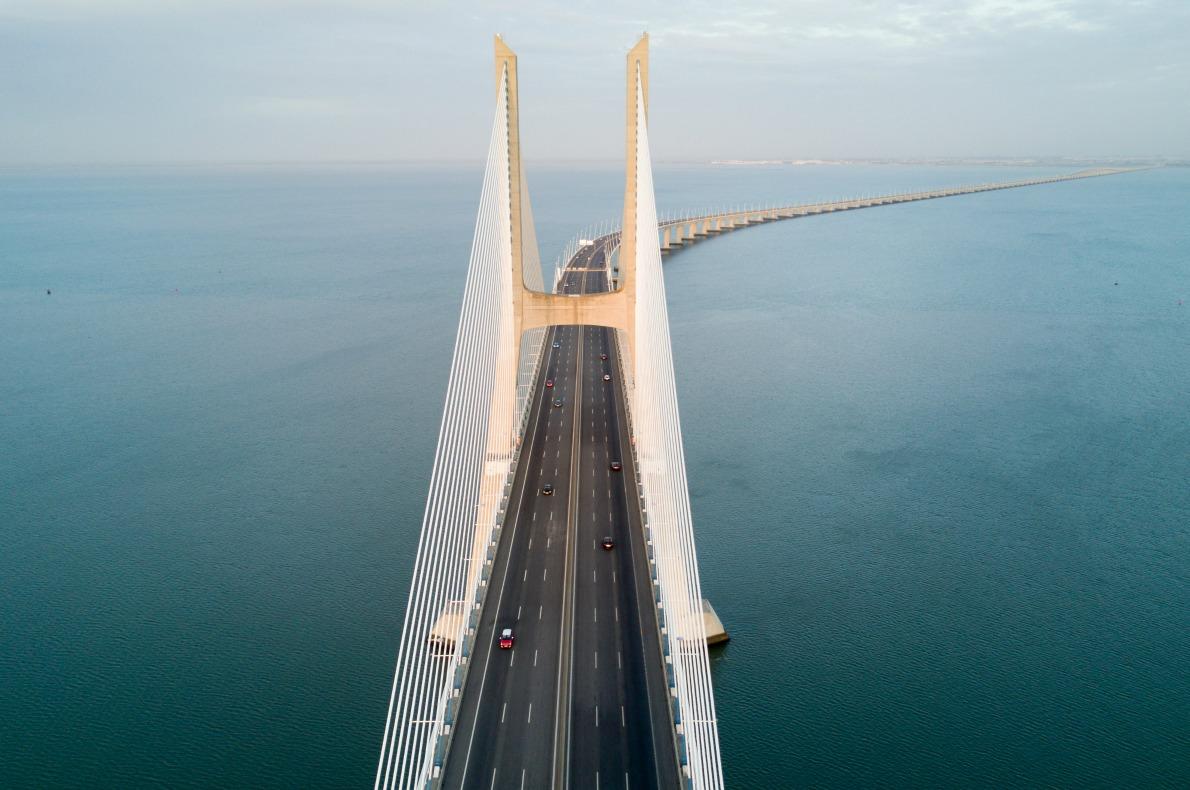 Vasco da Gama Bridge Lisbon - Most beautiful bridges in Europe