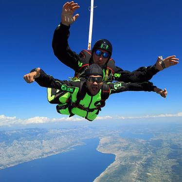 Zadar-Tandem-Skydive