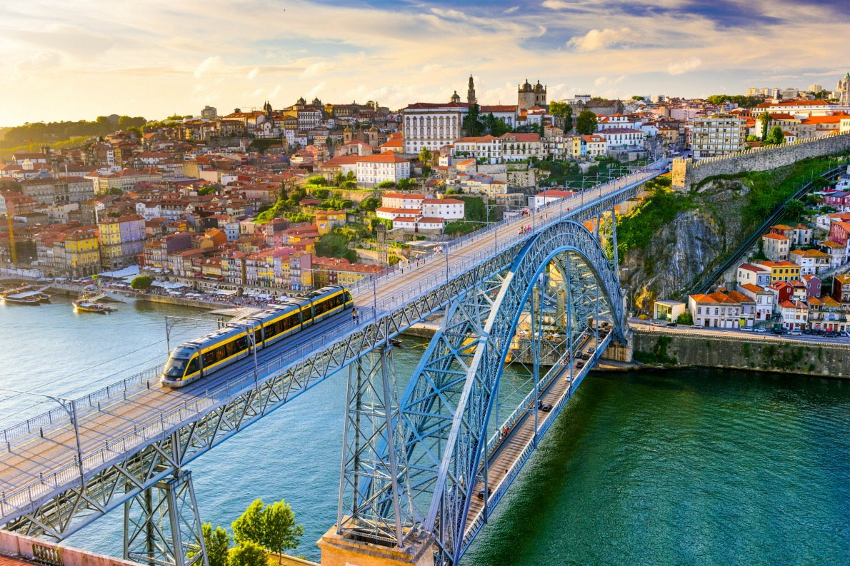Seven wonders of Europe - Dom Luis I Bridge Copyright  Sean Pavone - European Best Destinations