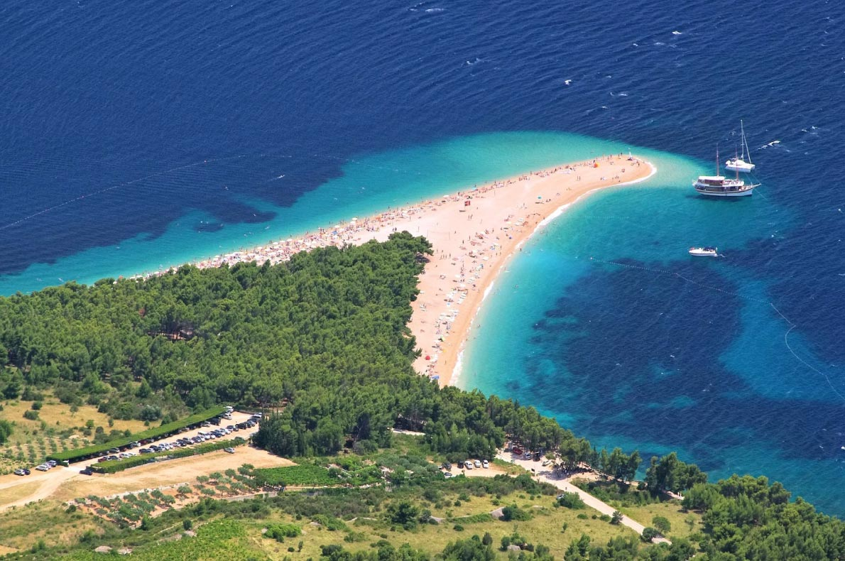 Best beaches in Croatia - Zlatni Rat - Copyright Liane-M - European Best Destinations
