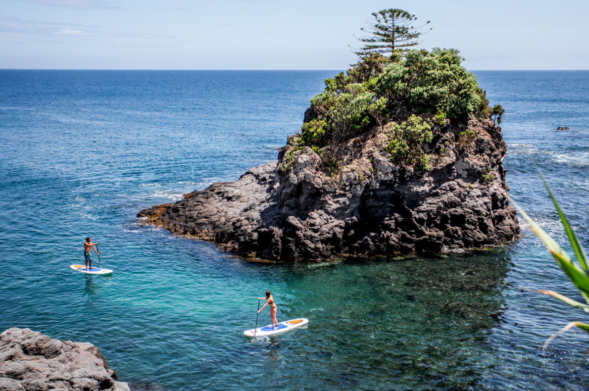 Covid-19 Safest Destinations in Europe - Azores Stand up Paddle Copyright RavenEyePhoto    - European Best Destinations