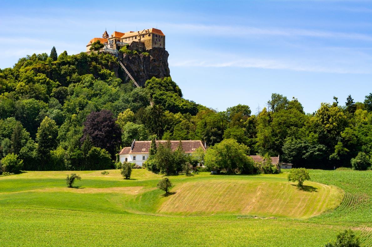 Best castles in Austria - Riegersburg Castle Copyright Lukeontheroad - European Best Destinations