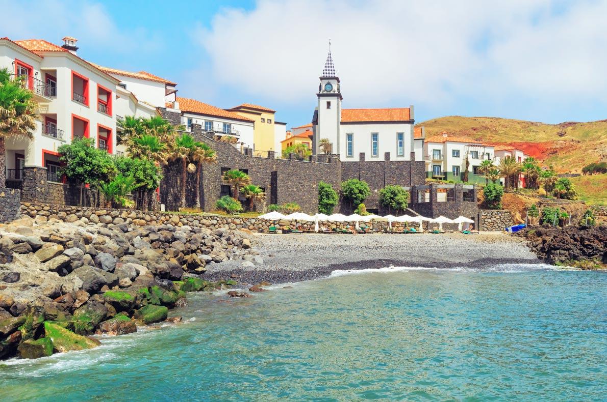 Best beaches in Madeira - Quinta do Lorde Beach - copyright Lena-Serditova