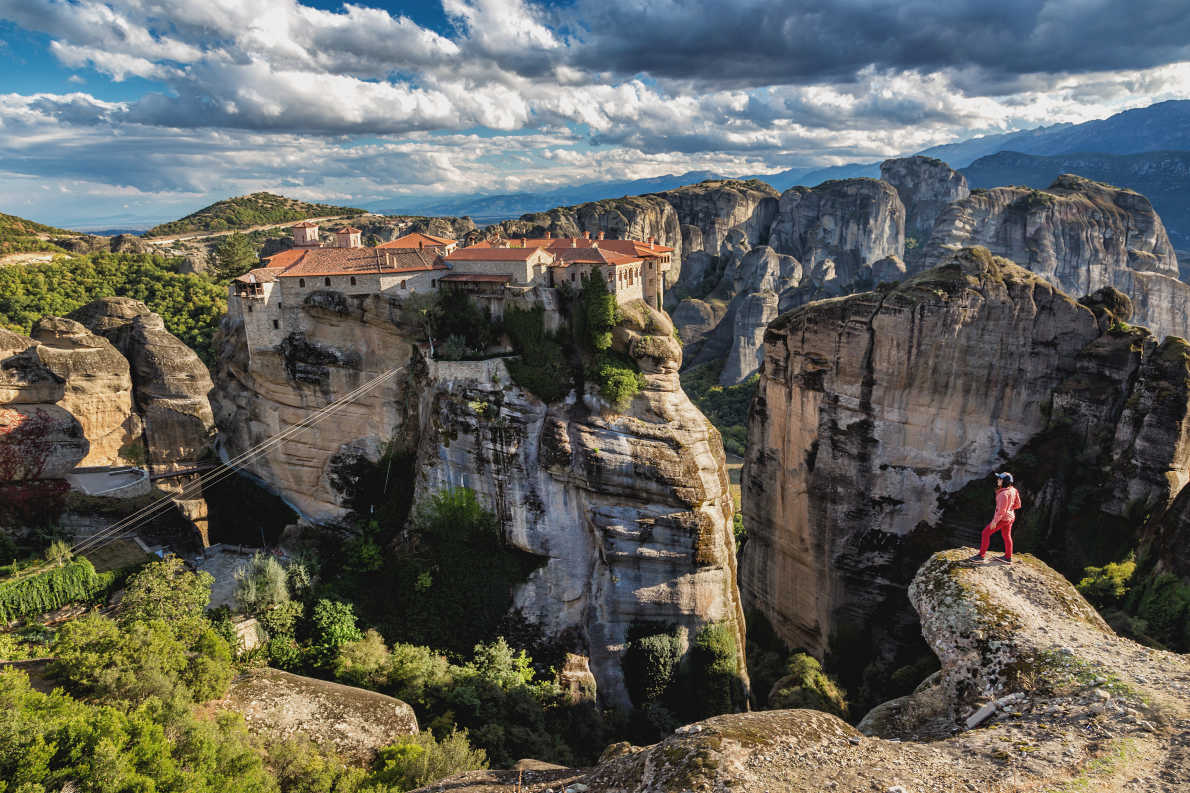 Europe Bucket List - Best things to do in Europe - Meteora- Copyright   Kanuman   - European Best Destinations
