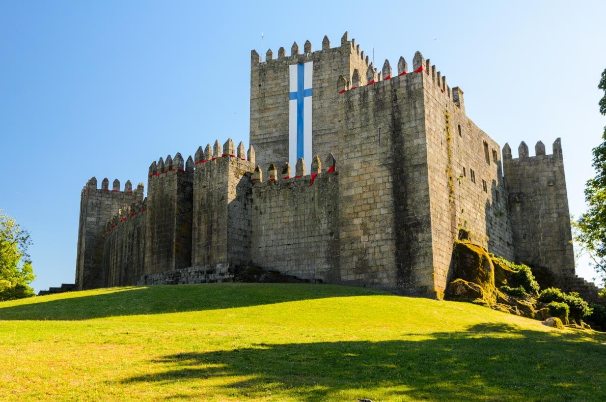 Best Castles in Portugal - Guimaraes Castle Copyright Sergey Peterman - European Best Destinations