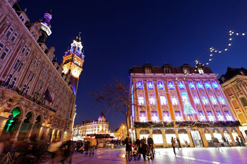 Best Christmas Market in France -  Lille Christmas Market Copyright  Laurent Ghesquiere