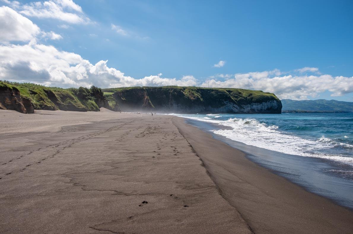 Safest and longuest beaches in Europe - Ribeira Grande Beach Sao Miguel copyright Vitor-Miranda- European Best Destinations