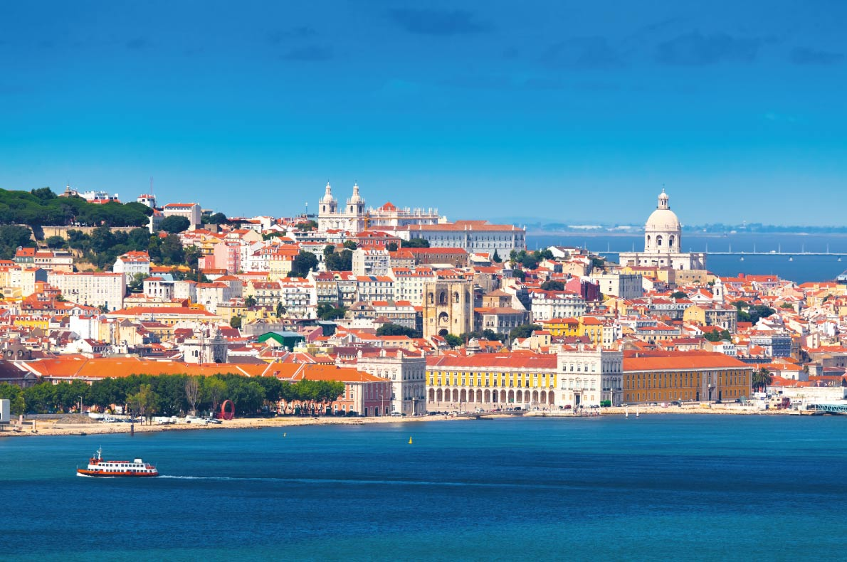 Lisbon - Best Destinations for fall Autumn in Europe - Copyright Lemon INTERPIXELS - European Best Destinations