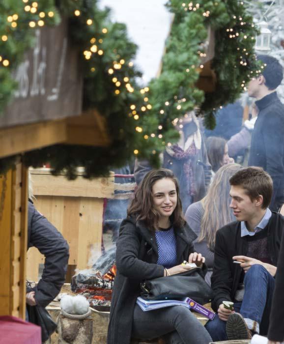 Louvain-La-Neuve Christmas Market