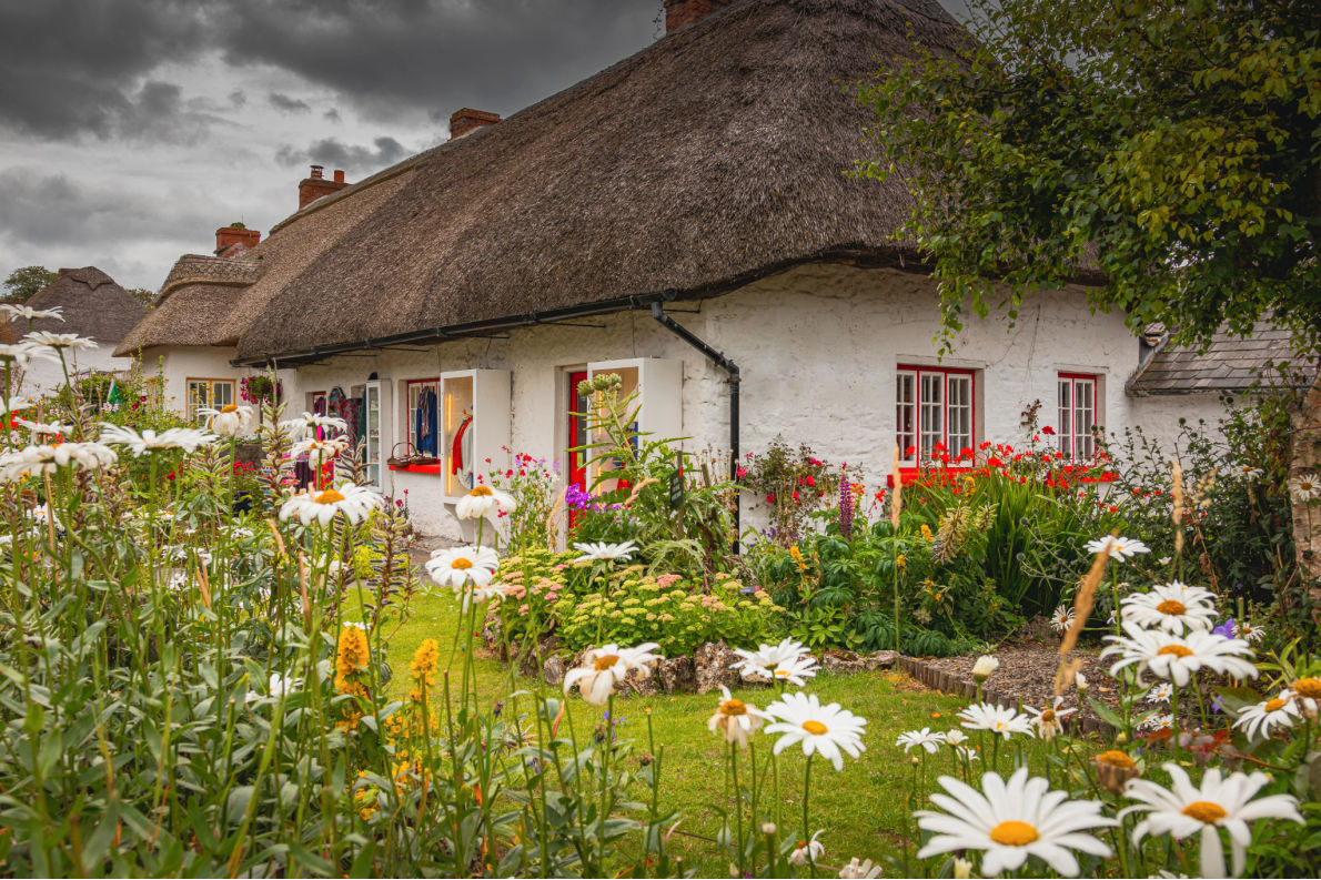 Best hidden gems in Ireland - Adare copyright Sphotomax - European Best Destinations