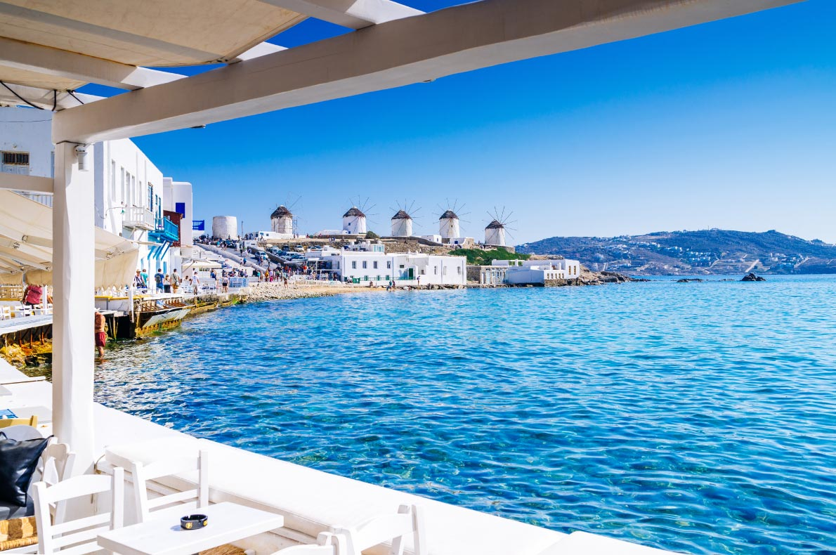 Best places to visit in Greece - Mykonos copyright Aetherial Images - European Best Destinations