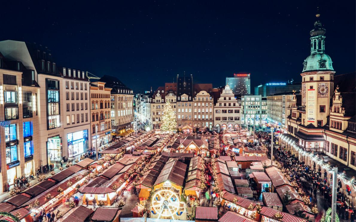Leipzig Christmas market - Copyright Daniel Koehler