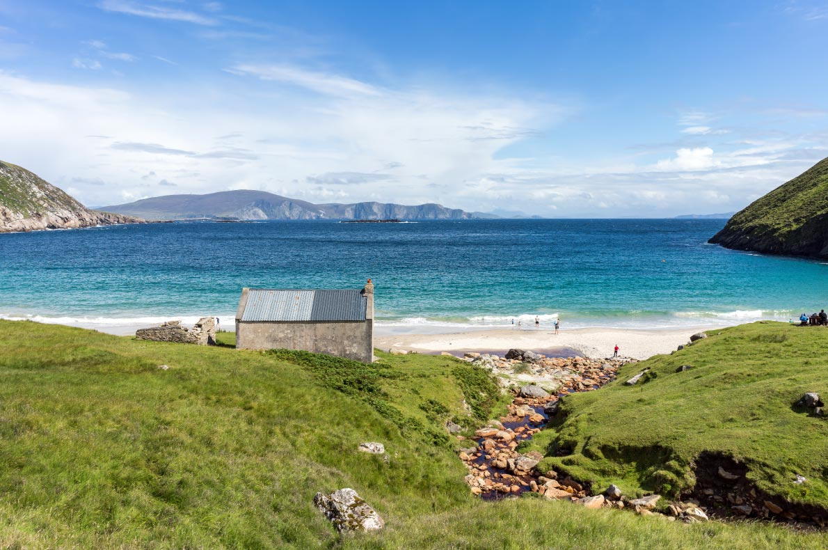 Best beaches in Ireland - Keem beach county Mayo copyright  Colin Majury - European Best Destinations
