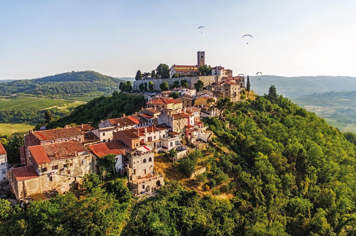 Motovun - Best medieval destinations in Europe - Copyright OPIS Zagreb - European Best Destinations