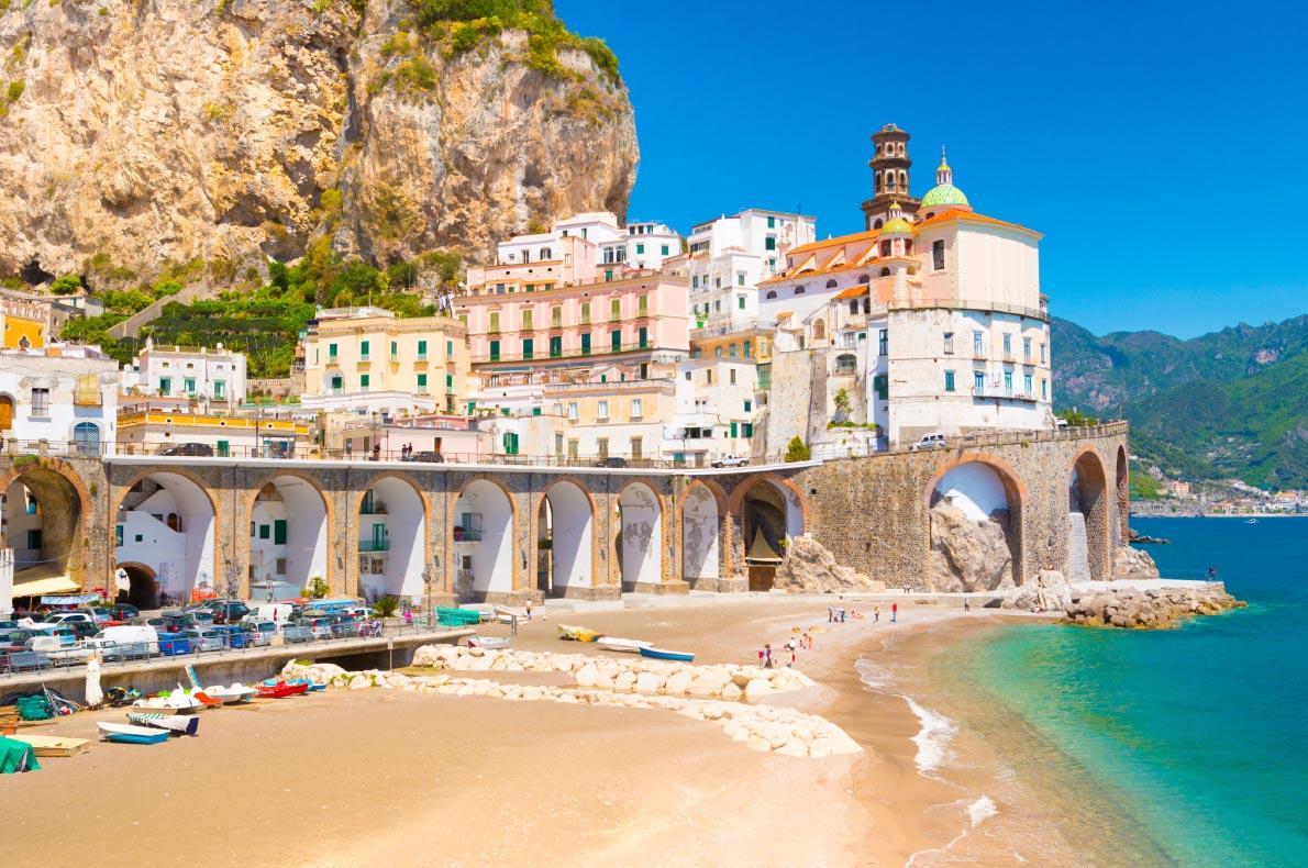 Best beaches in Italy - Atrani Copyright  Oleg Voronische - European Best Destinations