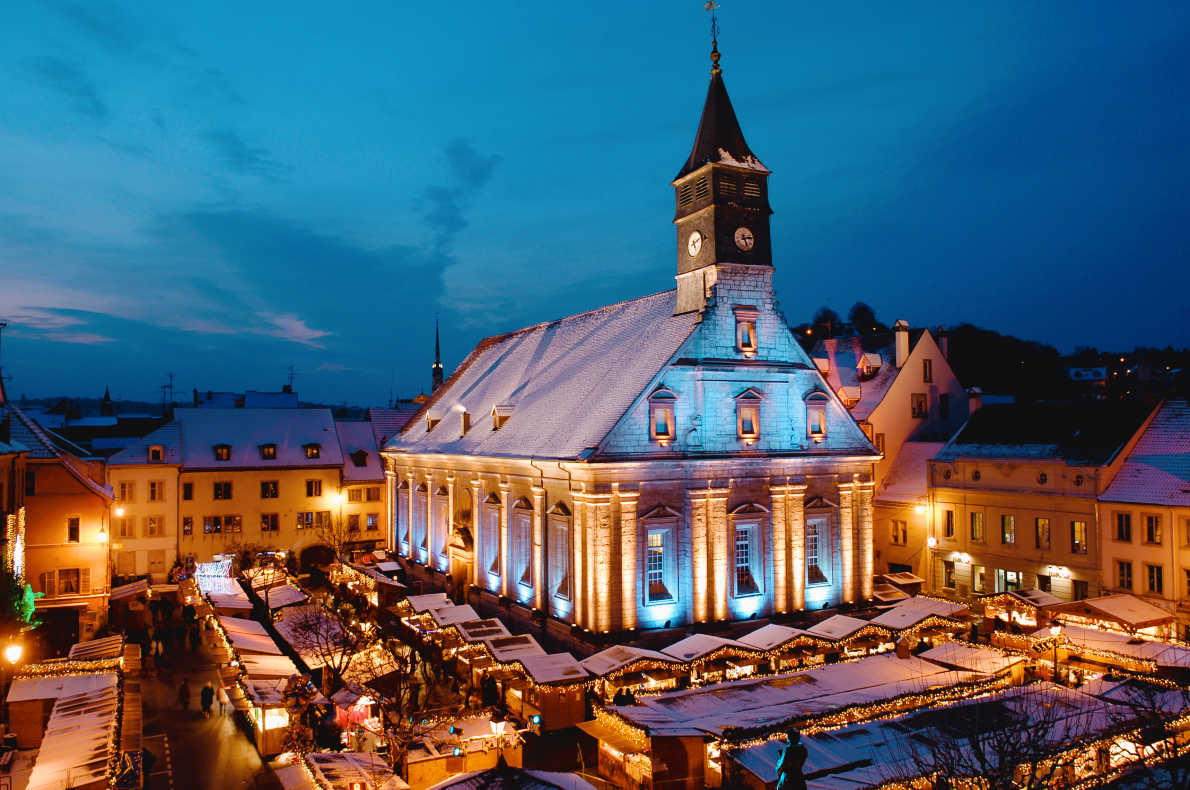 Best Christmas Market in France -  Christmas in Montbeliard Copyright Montbeliard Tourisme - European Best Destinations