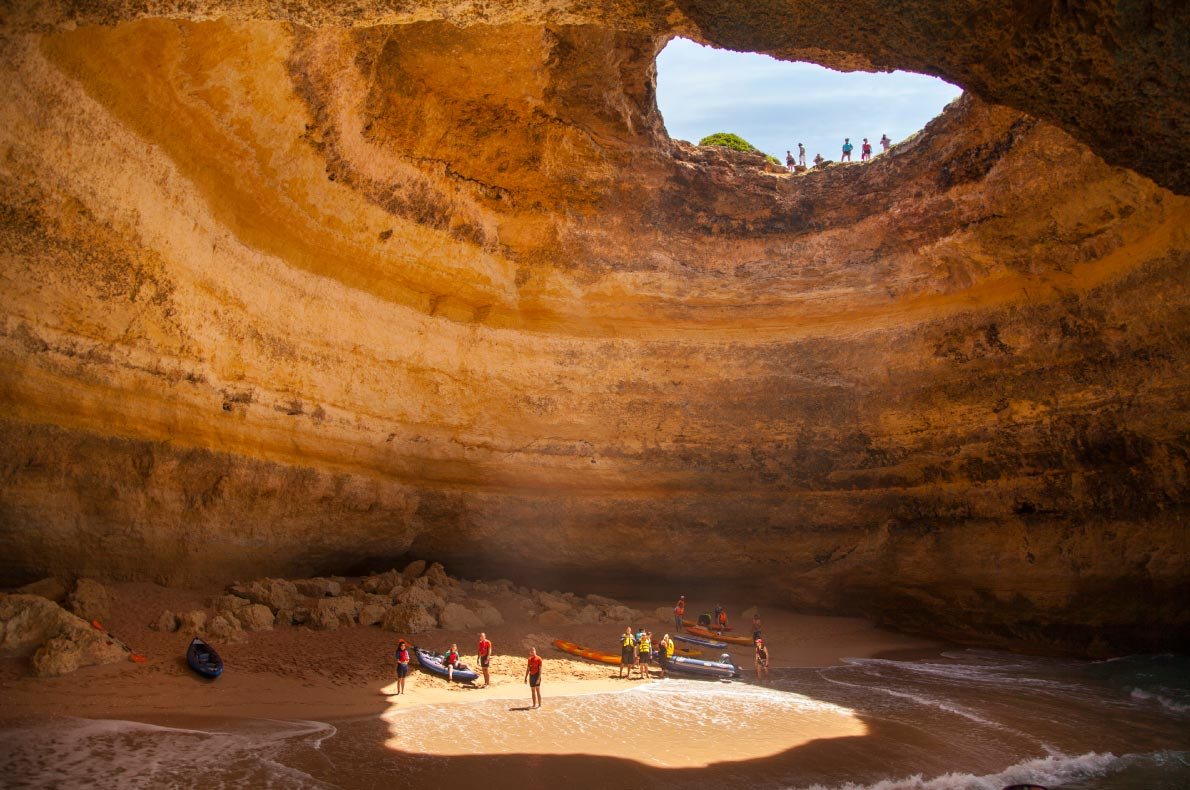 Best beaches in Portugal - Benagil Cave beach copyright  Caio Pederneiras   - European Best Destinations