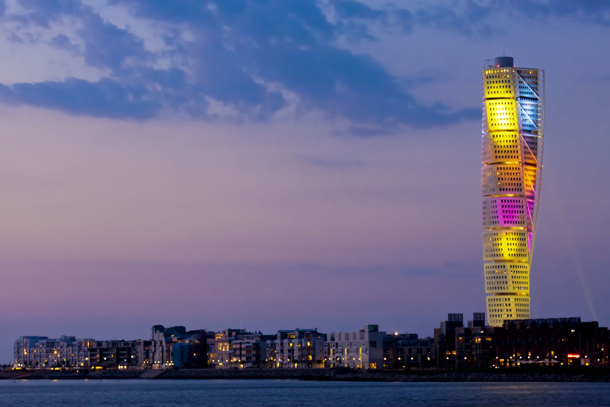 Tallest buildings in Europe - Turning Torso Copyright kimson - Shutterstock- European Best Destinations