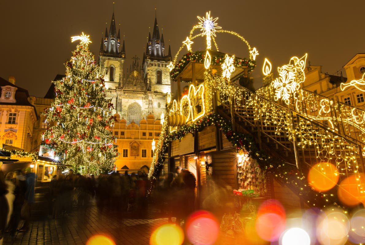 Prague Christmas Market Czech Republic