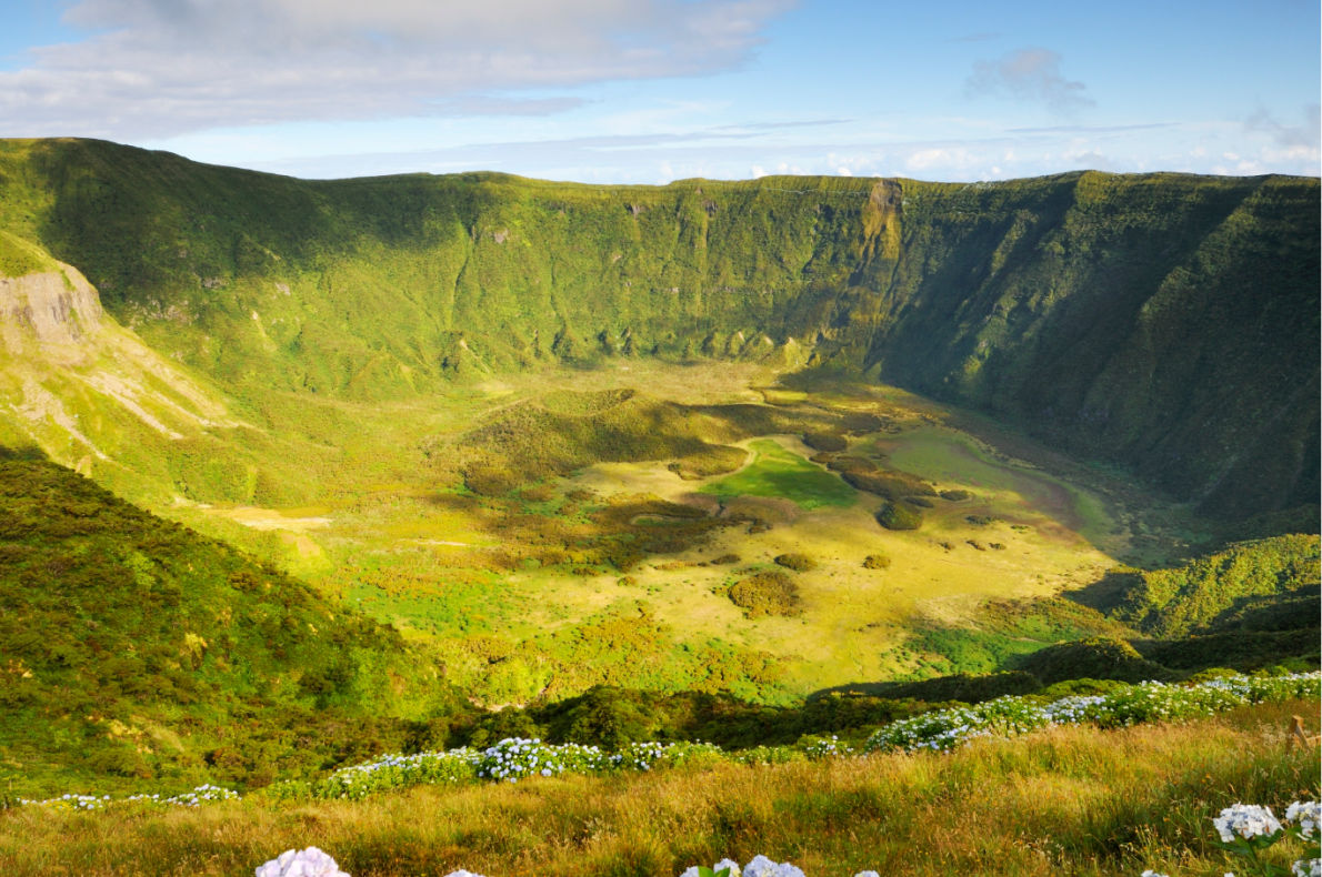Best places for Digital Detox - Faial's Caldeira_ Copyright Visit Azores