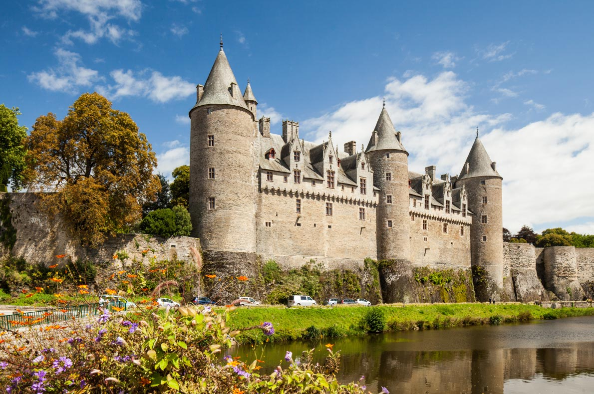 Best castles in France - Castle Josselin in Morbihan Copyright  Oscity - European Best Destinations