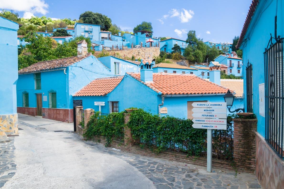 Best hidden gems in Spain - Juzcar Copyright  Pabkov - European Best Destinations