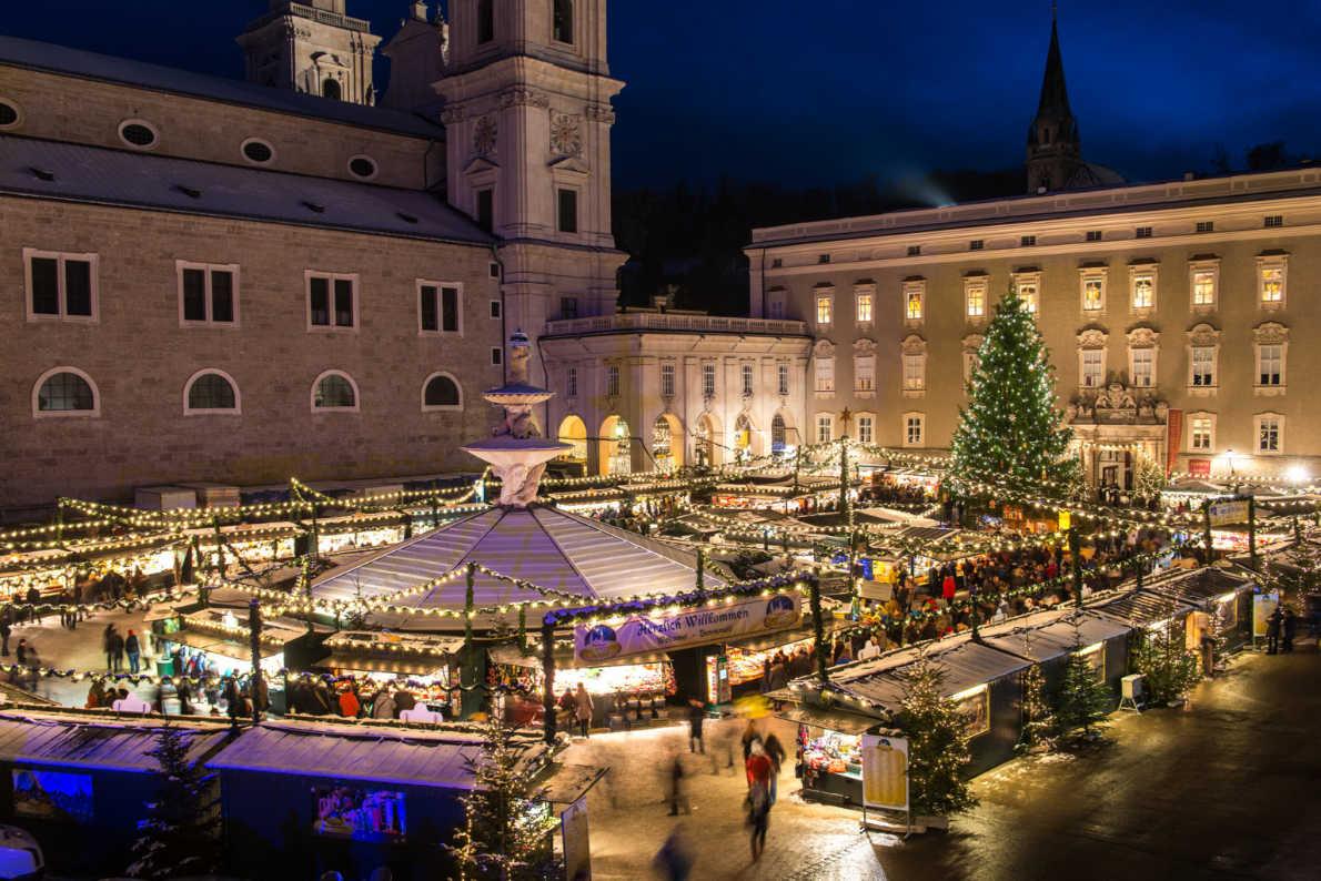 Best Christmas Markets in Austria - Salzburg Christmas Market - Salbzurg Tourismus - European Best Destinations