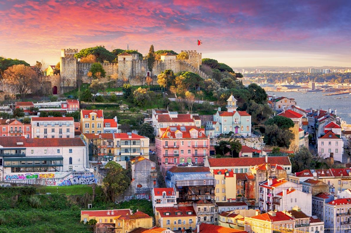 Best castles in Portugal - Sao Jorges Castle in Lisbon Copyright  TTstudio - European Best Destinations