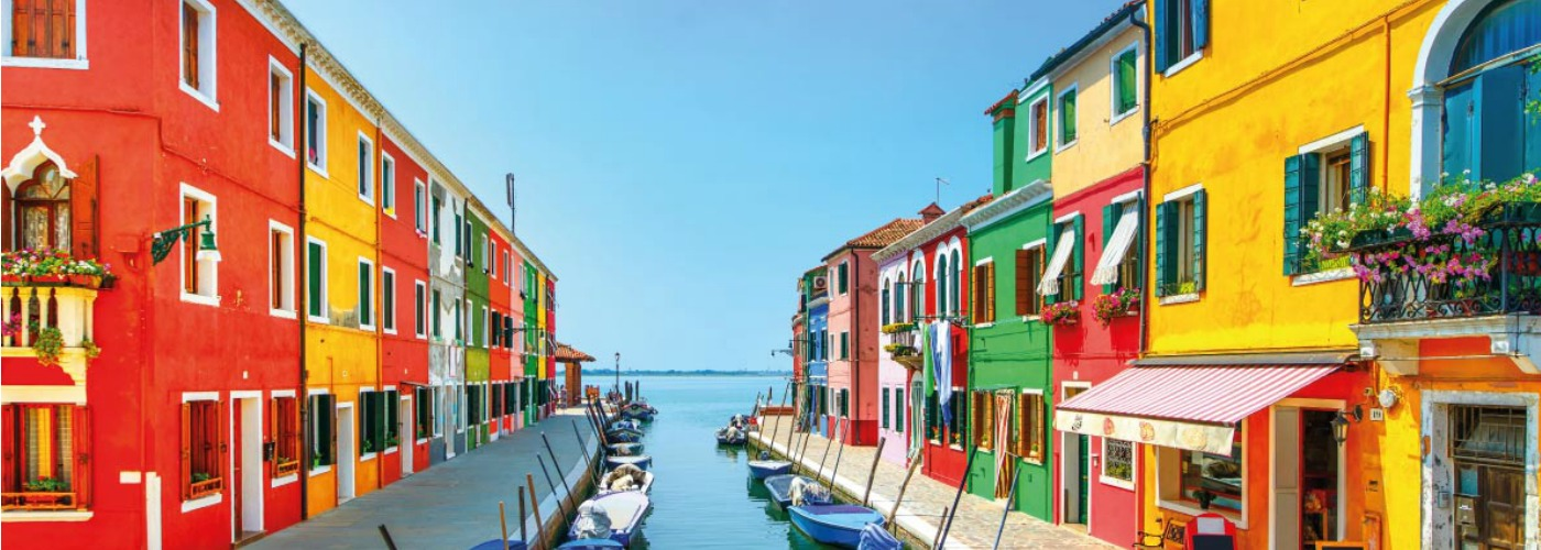 Best colorful destinations in Europe